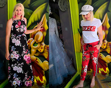 Neue Sommerkleider und Sommerstyles im Kaufhaus Schrill in Bamberg