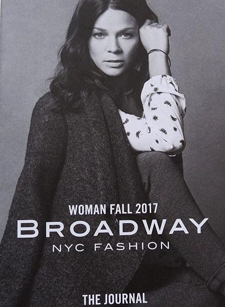 Broadway spring 2017 mit Jessica Schwarz
