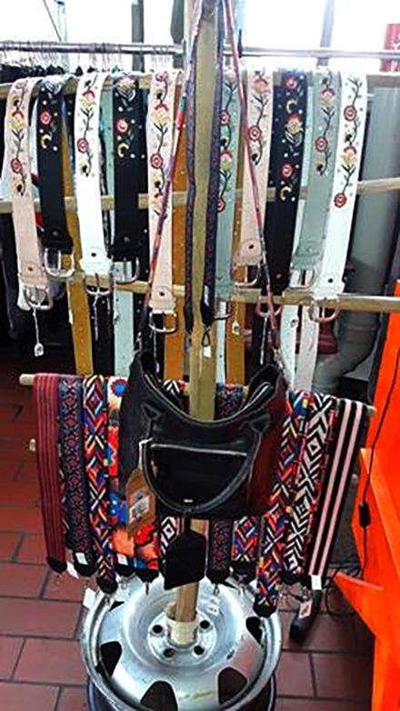 Hippie Taschenbänder und Gürtel