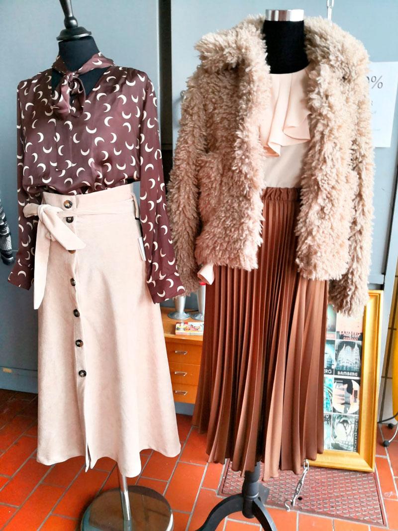 Herbstkleidung bei Kaufhaus Schrill in Bamberg und viele festliche Kleider