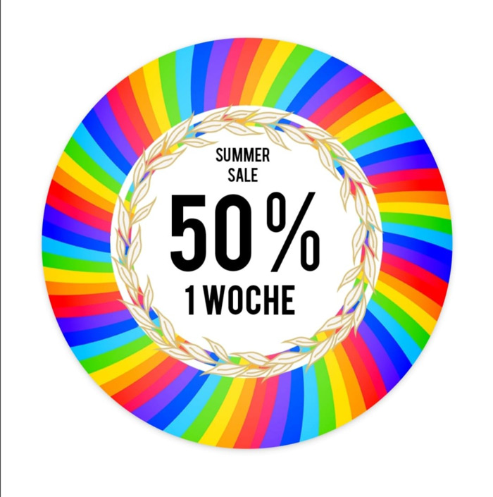 50 % Summer Sale im Kaufhaus Schrill Bamberg